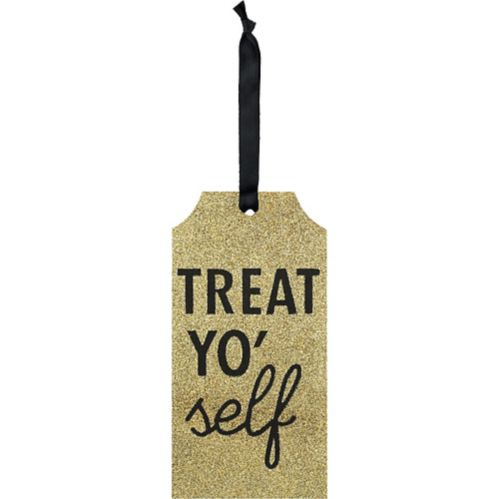 Treat Yo Self Bottle Tag