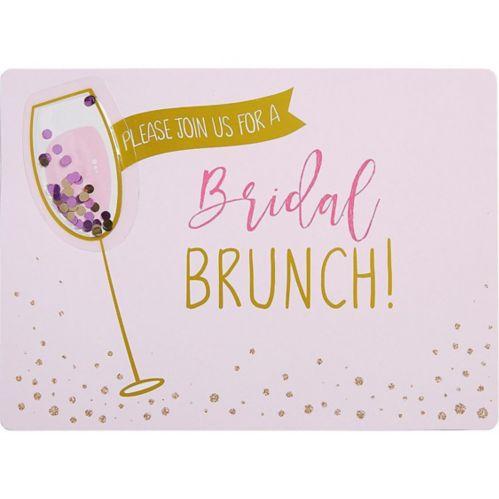 Premium Bridal Shower Brunch Invitations, 8-pk