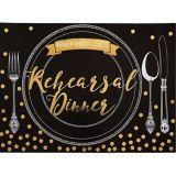 Premium Rehearsal Dinner Invitations, 8-pk