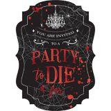 Dark Manor Invitations, 8-pk