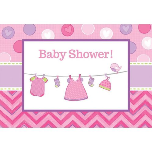 It's a Girl Baby Shower Invitations, 8-pk