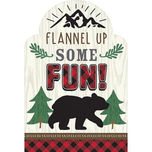 Little Lumberjack Invitations, 8-pk