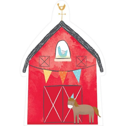 Friendly Farm Invitations, 8-pk
