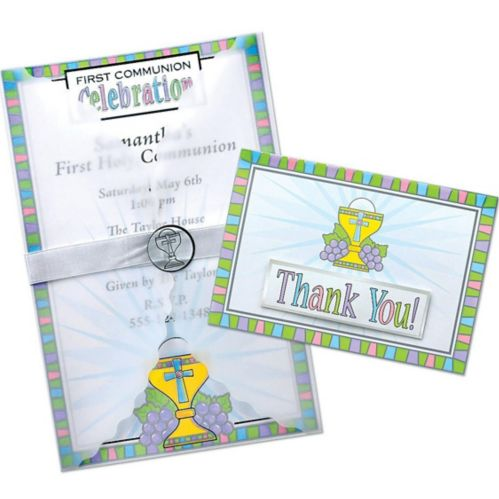 Communion Deluxe Invitation Kit