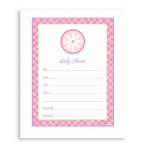Pink Value Pack Baby Shower Invitations, 20-pk