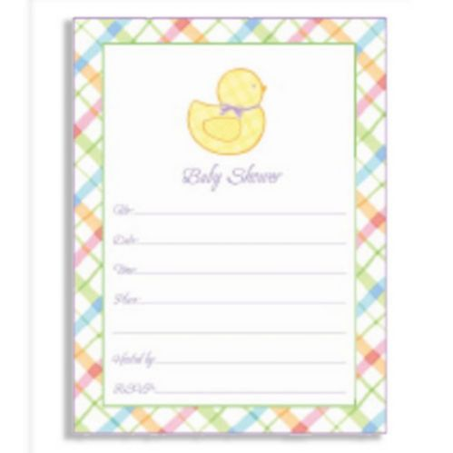 Value Pack Baby Shower Invitations, 20-pk