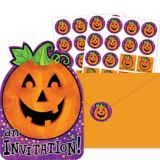 Invitations Citrouille joyeuse