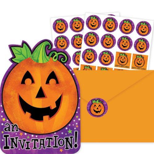 Cheery Pumpkin Invitation Pack