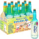Sun & Sand Bottle Invitations
