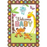 Fisher-Price Jungle Baby Shower Invitations, 8-pk
