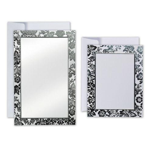 Platinum Embossed Invitation Kit, 50-pk