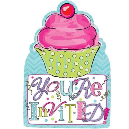 Birthday Sweets Invitation, 20-pk
