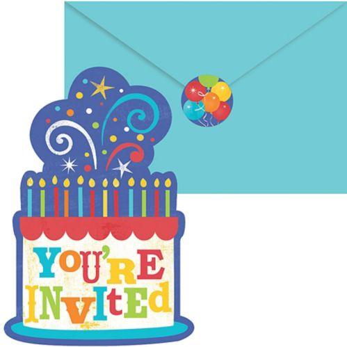 Birthday Fever Invitations, 20-pk