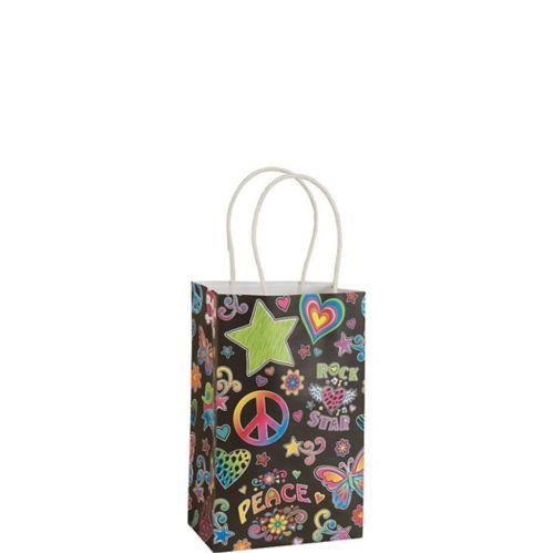 Black Neon Gift Bag