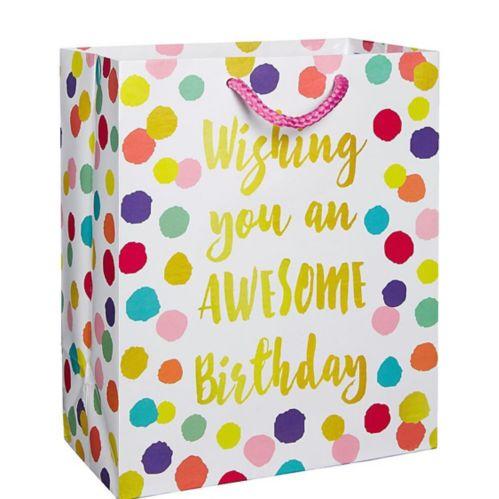 Colourful Dots Birthday Gift Bag
