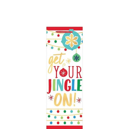 Get Your Jingle On Bottle Bag