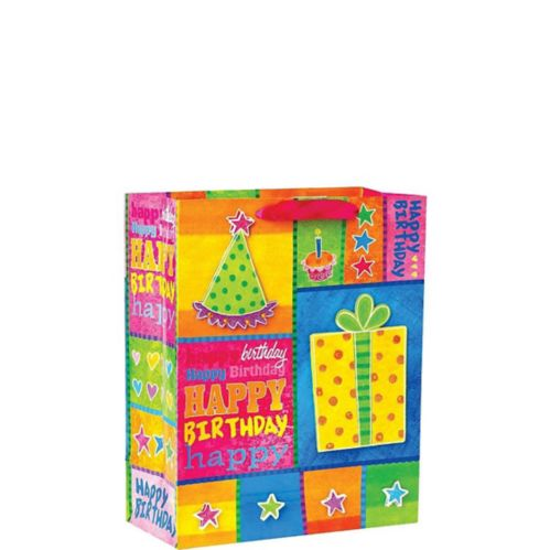 3D Birthday Party Gift Bag