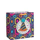 3D Party Hat Birthday Gift Bag, 15-in