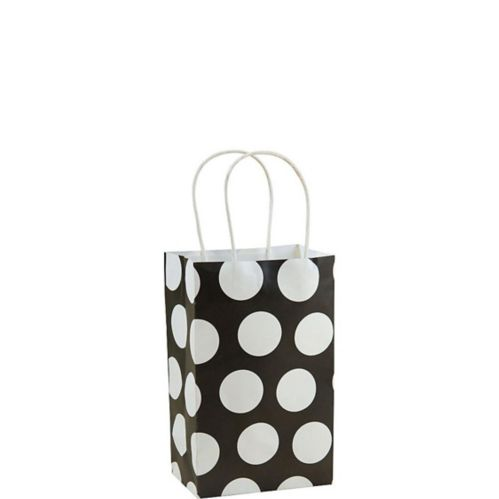 Black Dot Gift Bag
