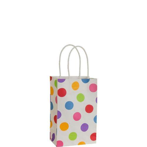 Colourful Polka Dot Gift Bag