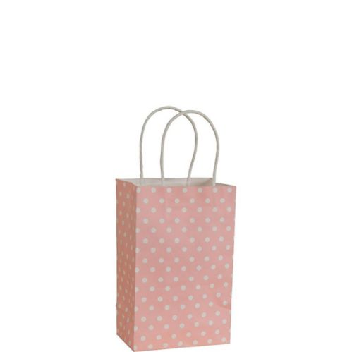 Light Pink Dot Mini Gift Bag