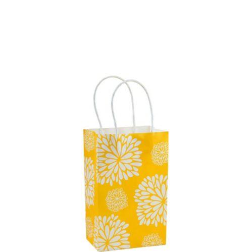 Sunshine Yellow Mum Mini Gift Bag