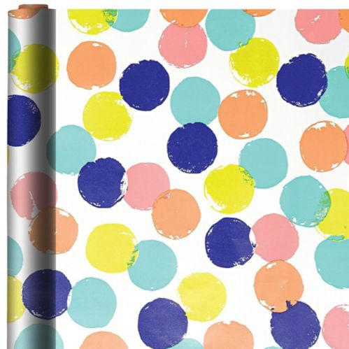 Colourful Dots Gift Wrap