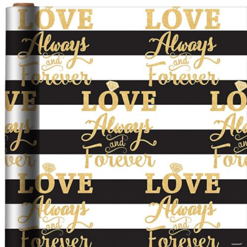 Love Always and Forever Gift Wrap