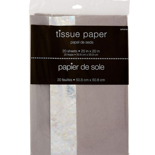 Prismatic Tissue Paper, 20-pk