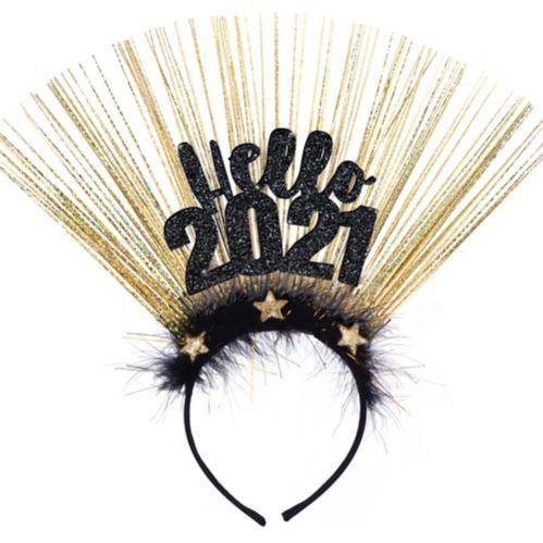 Black & Gold Hello 2020 Head Bopper Product image