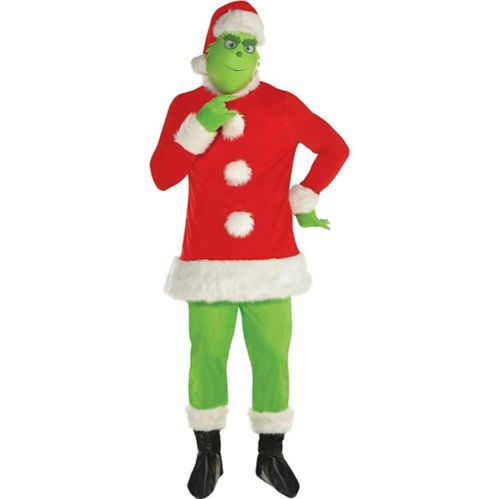 Adult Grinch Santa Costume