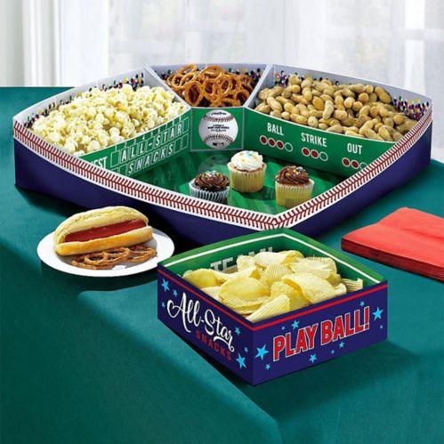 Baseball Snack Stadium Kit, 5-pk