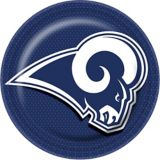 Los Angeles Rams Lunch Plates, 18-pk | Amscannull