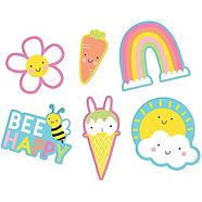 Easter Peel & Stick Patches, 6-pc