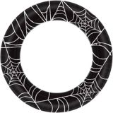 Spider Web Dinner Plates, 10-in, 40-pc