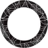 Spider Web Dinner Plates, 6.75-in, 40-pc