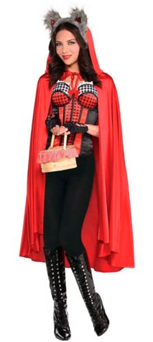 Little Red Riding Hood Cape, Adult