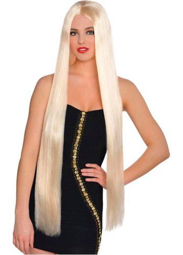Longue perruque blonde