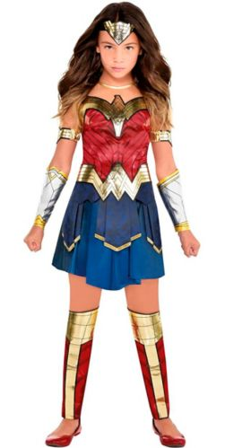 Wonder Woman Kids' Halloween Costume, Medium