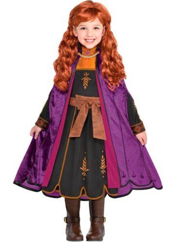 Disney's Frozen 2 Anna Kids' Halloween Costume, Medium