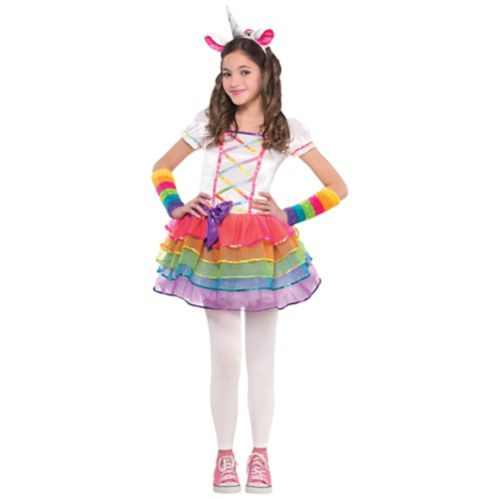 Kids' Rainbow Unicorn Halloween Costume, More Options Available Product image