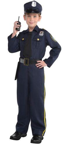 Police Officer Kids' Costume, Large