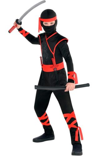 Shadow Ninja Kids' Halloween Costume, Large
