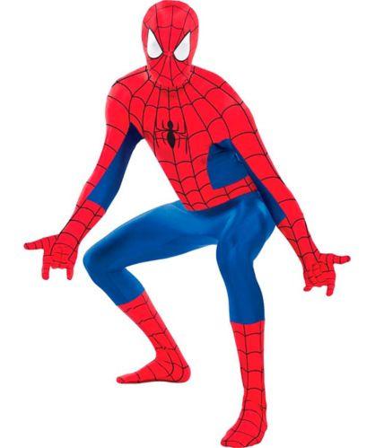 Marvel's Spiderman Partysuit Costume, Adult, Large