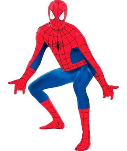 Costume de fête Spiderman de Marvel, adulte, très grand