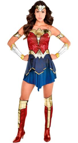 Wonder Woman Costume, Adult, Large