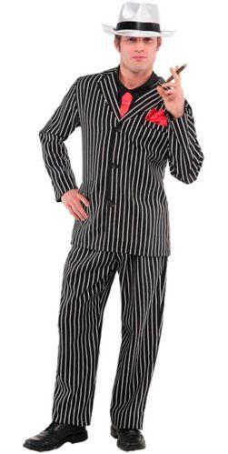 Mob Boss Halloween Costume, Adult, Medium