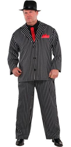 Mob Boss Halloween Costume, Adult, X-Large