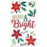 Holly Merry Christmas Guest Towels, 16-pk   Amscannull