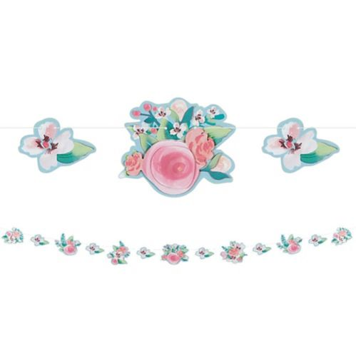Mint to Be Floral Garland
